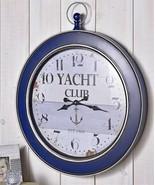 "28"" x 34"" Nautical Vintage Look Blue Border Yachet Club Sentiment Wall C... - $247.49"
