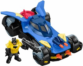 Fisher-Price Imaginext DC Super Friends, Batmobile DHT64 TOY GIFT NEW - $24.74