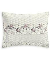 Martha Stewart Collection Textured Floral Stripe Standard Sham T410884 - $41.87