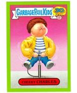 "2015 Garbage Pail Kids 30th Anniversary ""CHEEKY CHARLES"" #1b Green Borde... - $1.00"