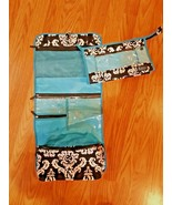 clever container women's jewelry cosmetic hygiene toiletry travel  case set - $16.33