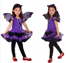 gilrs Masquerade dresses Halloween Party Cosplay clothes kids Costumes w... - $23.00