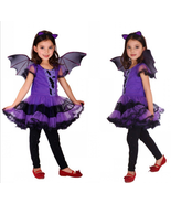 gilrs Masquerade dresses Halloween Party Cosplay clothes kids Costumes w... - $29.50 CAD+