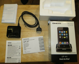 Onkyo Dock UP-A1 for IPOD - DOCK ONLY - works - In Box - use with TX-8050 Receiv - $27.71
