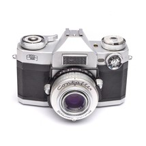 Zeiss Ikon Contaflex Super SLR 35mm Camera with TESSAR 50mm f/2.8 Lens - $99.00