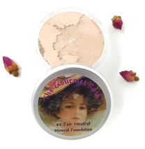 #0 FAIR NEUTRAL Bare Mineral Foundation Makeup Sheer Minerals Acne Cover Full Sz - $14.95