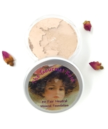#0 FAIR NEUTRAL Bare Mineral Foundation Makeup Sheer Minerals Acne Cover... - $14.95