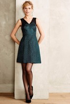NWT ANTHROPOLOGIE EMERALD FACET FLARED DRESS by HD in PARIS 2 - $110.57