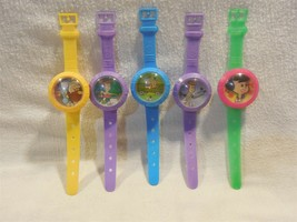 Flintstones Set of 5 Watch Candy Containers w/Dexterity Game Character F... - $24.95