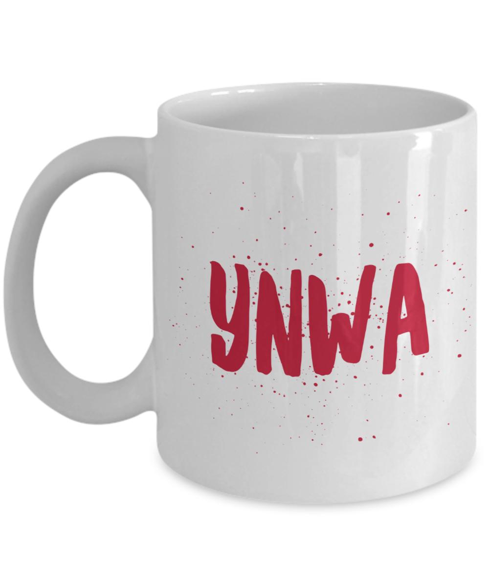 YNWA Mug Red You Never Walk Alone Liverpool Speckled Brush Christmas Birthday Fa