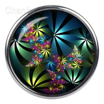 Beautiful design round snap button charms jewelry wholesale 12mm 18mm 20... - $14.07