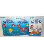 LOT 3 Just Toys Justoys Bend-Ems Bendems Disney Little Mermaid Sebastian... - $39.99
