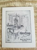 RUTH & WALTER GAFFNEY PERSONAL GREETINGS POSTCARD.MISSOURI BASED*P11 - $37.39