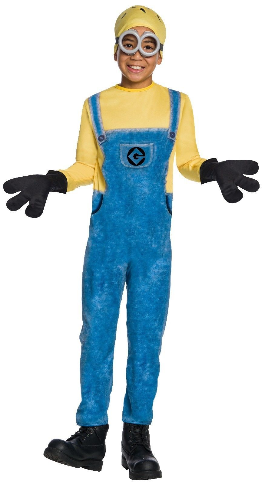 Rubie's Costume Jerry Minion Kids Childrens Outfit Halloween Movie Show 630725