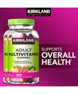 NEW Kirkland Signature Adult Multivitamin, 320 Gummies **FREE SHIPPING** - $21.99
