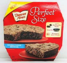 Duncan Hines Perfect Size Double Fudge Brownie Mix 7.7 oz  - $6.19