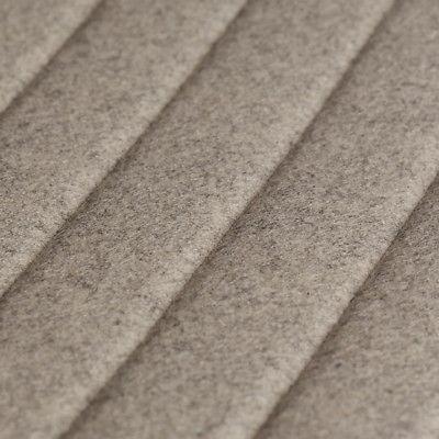 1.25 yds Camira Upholstery Fabric Blazer Quilt Channel Beige Wool QZC86 QS