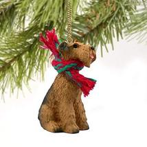 Airedale Terrier Miniature Dog Ornament - $10.99