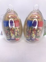 6pc Lip Smacker Marvel Iron Man Set Easter Egg Container Sealed - $19.75