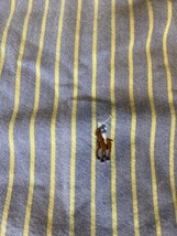 POLO RALPH LAUREN Men's Classic Fit Long Sleeve Button Down Shirt XL - $17.33