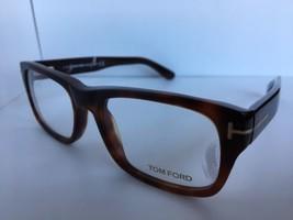 New Tom Ford TF 5415 TF5415 001 50mm Black Eyeglasses Frame Italy - $185.84