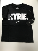 NIKE BOYS KYRIE IRVING TSHIRTS 4-7 YEARS (5 YEARS, BLACK) - $19.59