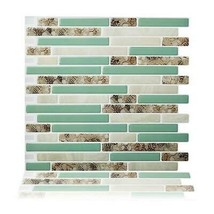 (Ship from USA) Peel and Stick Wall Tiles 10.5'' x 10'' Kitchen Backsplash Tile  image 2