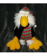 Vintage 1989 Ganz Bros Zak Eagle Bird Soft Stuffed Plush Fluffy Animal X... - $49.49