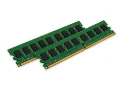 Kingston ValueRAM 4GB 667MHz DDR2 ECC CL5 DIMM (Kit of 2) Desktop Memory - $39.59