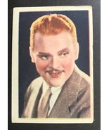 1936 Nestle Stars of the Silver Screen Card #25 James Cagney - $8.86