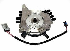 OptiSpark Spline Drive Distributor & Spark Plug wires & Wiring Harness For Chevy image 4