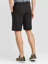 "Men's 10.5"" Tech Chino Shorts - Goodfellow & Co -Black Color  Various Sizes NEW- image 2"