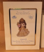 Disney Parks Precious Moments Your Beauty Shines From Within Belle Figur... - $96.98
