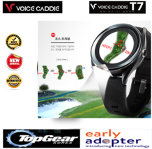 Voice Caddie First AI with a golf range finder T7  White Color Korea GEAR  - $641.41