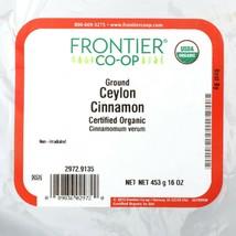 Frontier Co-op Ceylon Cinnamon Powder 1 lb Bulk Bag Organic Kosher Non-i... - $17.34