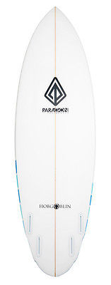 6'0 Hobgoblin Surfboard - Blu Stripe/PU - Paragon Surfboards