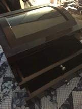 Hump Back Lacquer Wood Jewelry Box 10.5 X 8 X 5 (me) - $84.15