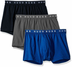 Hugo Boss Men's Natural Pure Cotton 3 Pack Underwear Boxers Trunks image 9