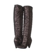 I35 Gerii3 Knee High Boots 145, Pewter, 5.5 US - $39.35