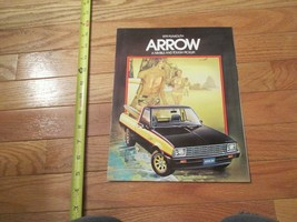 1979 Plymouth Arrow Pickup truck Car auto Dealer showroom Sales Brochure - $9.99