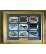 """11"""" X 14"""" Natural Wood Framed WARBIRD Aircraft - Mounted with Photo Tabs - $59.35"""