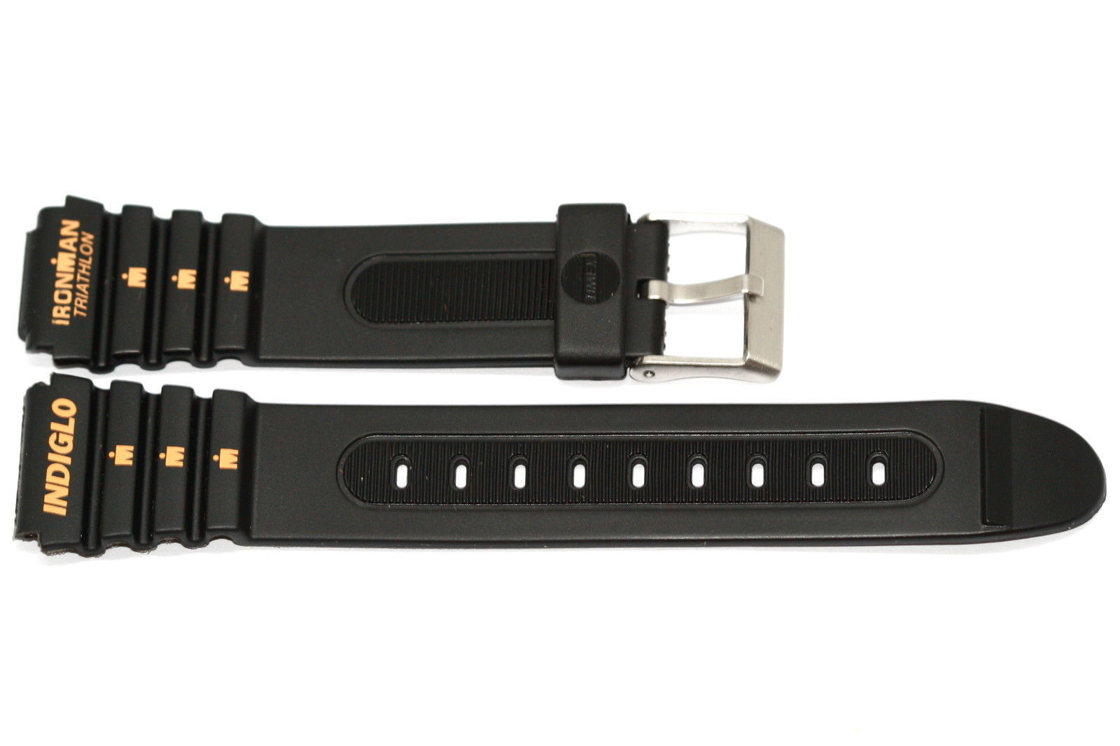 Primary image for 19MM LONG RUBBER TIMEX IRONMAN TRIATHLON SPORT WATCH BAND STRAP