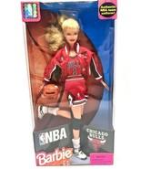 Barbie Licensed NBA Chicago Bulls Doll in NBA Uniform '98 - BRAND NEW! - $35.00