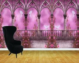 Enchanted Castle Arches Ballroom Wall Art Wall Mural Adhesive Vinyl Wallpaper* - $43.11+