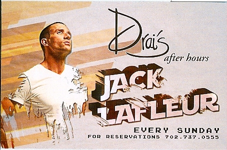 Drai's after hours Jack Lafleur Vegas Expired VIP Pass