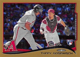 2014 Topps Gold #US94 Tuffy Gosewisch RC Rookie Card > SN 1242/2014 - $0.99