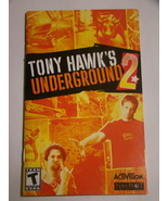 Playstation 2 - TONY HAWK'S UNDERGROUND 2 (Replacement Manual) - $8.00