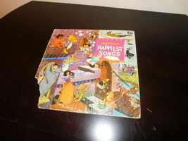 walt disney antique 1967 happiest songs record - $5.00