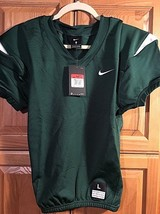NIKE Youth Boys Vapor Pro Football Jersey Size Large Green White 845931 ... - $64.35