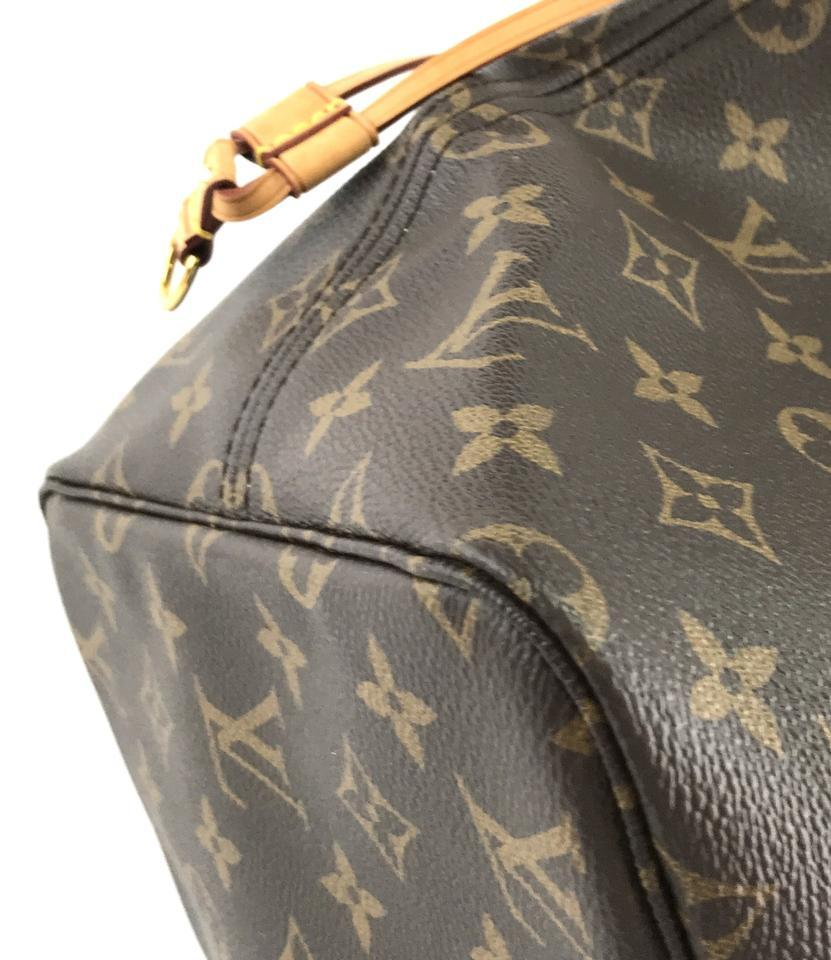 #32322 Louis Vuitton Neverfull Neo Nm Large Gm Tote Work Canvas Shoulder Bag image 10